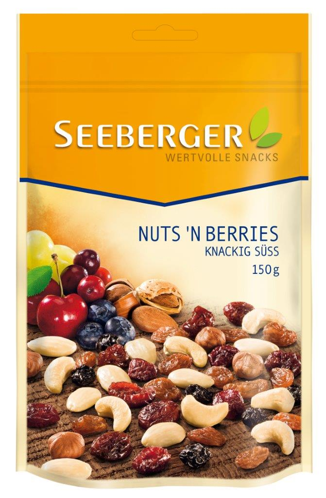 SEEBERGER Mix Nuts'N Berries 150g