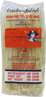 Paste din orez Spaghetti  3 mm 400g
